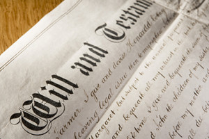 Old-Fashioned Will And Testament